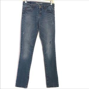 Aeropostale Bayla Skinny Distressed Jeans